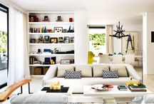 living room & family room / by Hanh Truong