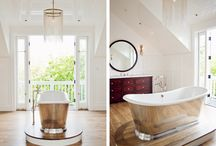 Bathroom Transitional Designs / by RJK Construction, Inc