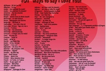 Valentines Day Ways to say I LOVE YOU / Great suggestions for ways to say I LOVE YOU, for Valentines Day or any time / by Lighthouse Inn