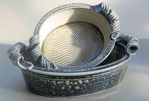 Ceramics - Bowls, Plates & Platters / by Joanna Mann