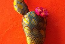 cactus de tela / by Con Estilo A Mi Mosaiquismoyespejos