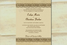 June 2nd Invitation Ideas / by Molly Voth