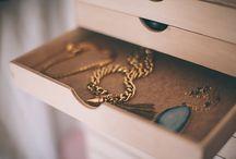 Interior I range bijoux / Des idées créatives pour ranger les bijoux / by la reine de ❤
