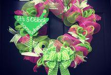 Deco Wreaths / by Rebecca Lee