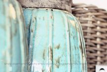 Teal, turquoise, mint, aquamarine, seafoam / by Becky S