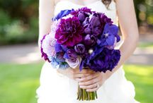 Purple and Blue Wedding / by Kat Jackson