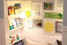 kid decor and organization ideas / by Posh Sitting