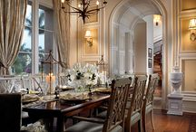 Tasteful Dining Rooms / Dining With Class and Style / by T. Almon