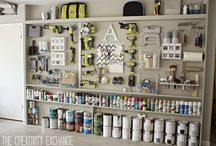 Garages  / Ideas for keeping your garage organized. / by RYOBI POWER TOOLS