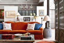 home -- living room / by Alex Russell