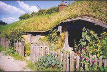 Hobbit Hole  / Industrial-Midcentury-Scandinavian-Shaker-Colonial-Hobbit / by Ann Simeoli