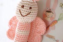 crochet / knit luvies, blankies / by Marie Sacco