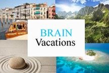 Brain Vacations / Mental vacation destinations for those moments when teachers need a break. / by Tree Top Secret Education