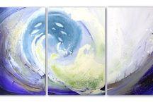 Lernvideos Acrylmalerei; für Anfänger geeignet / by Conny Niehoff