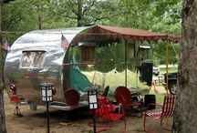 Trailers, camping, glamping, and tents / by Dan Cattell