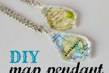 graci-town map pendants / by Kelli Gray