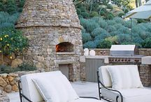 Wood Burning Ovens / I'm a huge fan of wood-burning ovens and even have one in my backyard. I thought it would be fun to post some great looking outdoor wood burning ovens as inspirations to anyone thinking of putting one on their patio. I'll even post a few indoor wood burning ovens too. / by The Reluctant Gourmet