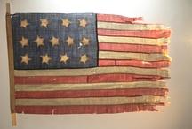 American Flag / 18th Century 13 Star American Flag / by keke Jones
