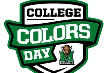 College Colors Day 2013 / by marshallu