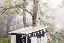 Run Away & Live In The Woods / DIY wilderness survival tricks and ideas for the tangle haired wild child. And cabins.  And tipis.  And tree houses. / by DIY Runaway