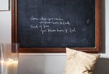 Blackboards / by Chille Wynyard