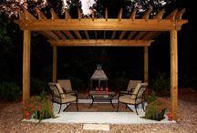 Outdoor spaces / by Julie Dewald
