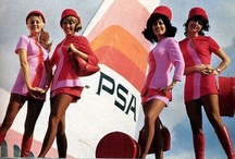 flight attendants / stewardess aviation fashion vintage / by Daniele Nepoti