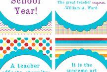School Ideas / by Jessica Taggart Marron