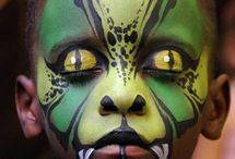 ALL HALLOWS EVE FACE PAINT & COSTUMES  / by Lisa Georgette