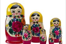 Russian Dolls Store / We inspire the imagination in the theme while preparing Matryoshkas Doll that one can enjoy for years. By innovative and striking designs, developed by our in-house team using the extraordinary craftsmanship / by Sush Verma