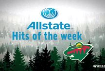 Allstate Hits of the Week / Allstate #mnwild Hits of the Week / by Minnesota Wild