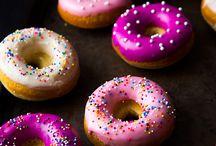 Dessert    Doughnuts / by Ashlee Geesaman