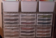 Scrap Rooms I Love / Some of my favorite scrapbooking/craft rooms / by Kathleen Driggers