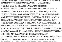 Star signs / Full of bull / by Kirsten Barouch