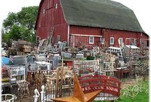 Flea Markets to visit!! / by Donna Martin