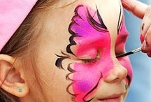Events - Face Painting / Face painting designs and tech / by G Jayne Christensen