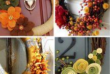 Fall Wreaths! / by Sheila Douglas