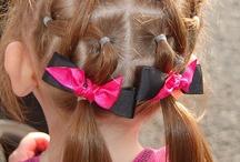 Mini's hair  / by Dennise Perez