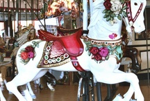 Carousels/Merry-Go-Rounds / Love of carousels / by Rita Monk