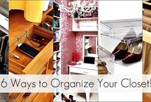 Organization / by The Creative Mom
