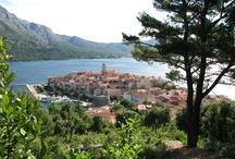Korcula - Croatia  / Ile de Korcula, cote Dalmate en croatie .  Island of Korcula , Dalmatian coast - Croatia  / by Michel B