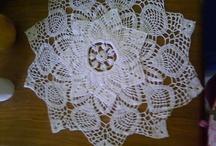 Manteles a crochet. / by Creaciones Lucyta