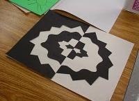 Art ED:  Pos and Neg/Symmetry / by Rachel Bingham