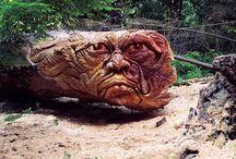 Talla en madera / by Maria Del Carmen Rodriguez