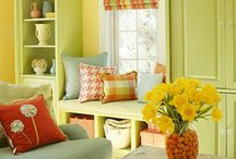 living room inspiration / by Tracy Whitney