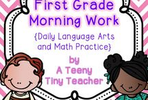 First Grade =] / by Natalie