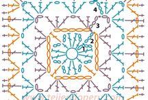 Crochet Patterns - Squares / by Jessica Ann Hernandez