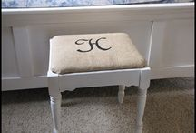 Reupholstery Ideas and DIY / by Michelle Risdon