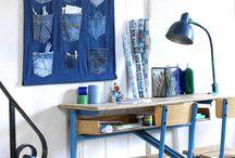 101 ideas with jeans / In het oktober nummer (2011) van 101woonideeën vindt je een DIY opbergzak van spijkerstof, je maakt het zelf in 45 minuten! Pinterest verslaafd als we zijn op de 101-redactie. Inspireerde ons dit spijkerstof tot het maken van een speciaal spijkerstof pinterest board. Op dit board kun je nog meer (zelfmaak)ideeën vinden van spijkerstof vinden. http://www.101woonideeen.nl/blog/zelfmaken-blog/zelfmaken-met-jeans.html  #denim #jeans #DIY following article in dutch interior magazine 101woonideeën / by 101woonideeën D.I.Y. magazine