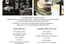 Baby Showers at Hard Days Night Hotel / Choose from two amazing Baby Showers for Mums to Be  / by Hard Days Night Hotel, Liverpool. UK